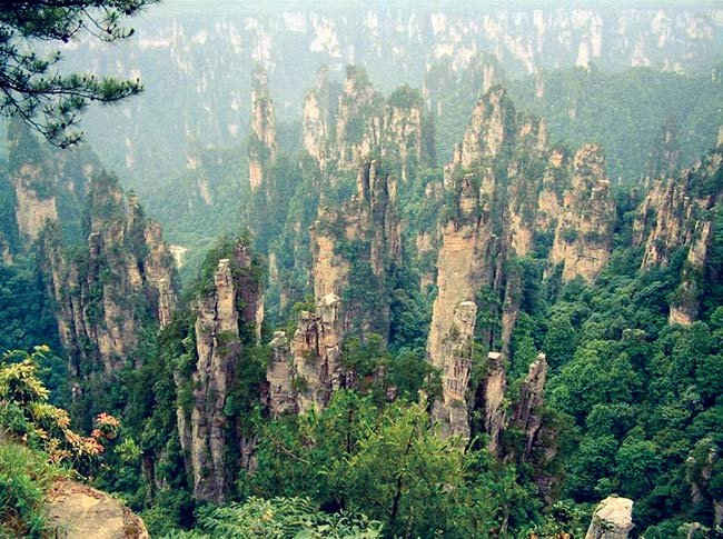 Préférence Zhangjiajie: China's National Park NI12